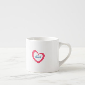Choose kindness heart mug