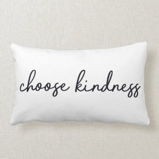 Choose Kindness Lumbar Pillow