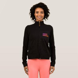 Choose Kindness Slim Fit Zip-Up Jacket