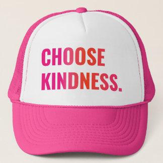 Choose Kindness Sunset Baseball Cap
