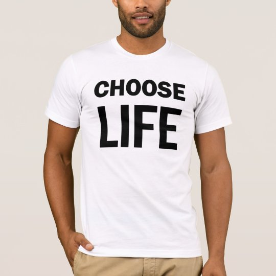 Choose Life 80's T-shirt