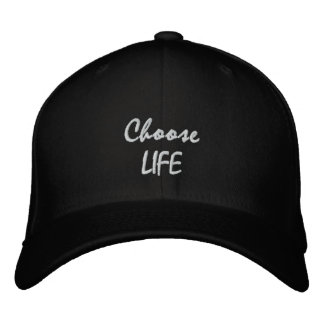 Choose LIFE Embroidered Hat