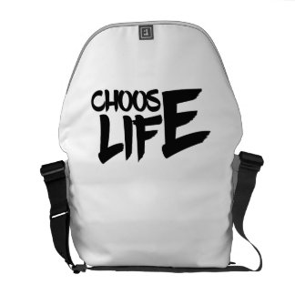 Choose Life for Men Women & Kids Courier Bag
