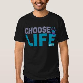 Choose Life Isaiah 49:1 Tee Shirts
