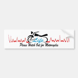 Life On Bike Stickers Life On Bike Custom Sticker Designs - Motorcycle bumper custom stickers
