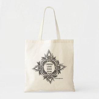 Choose Love Mandala Grocery Bag