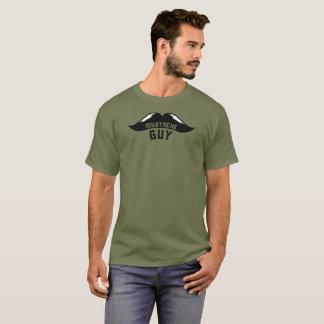 Choose Mustache or Moustache Guy T-Shirt