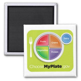 Choose My Plate Magnet