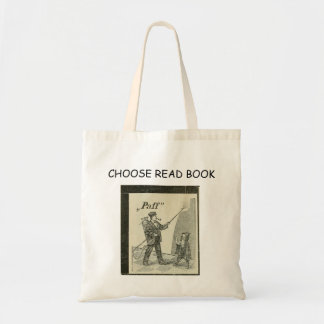 Choose Reading! Tote Bag