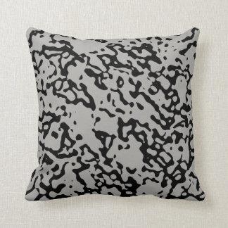 Choose The Colour Black Marble Design Pillow 1