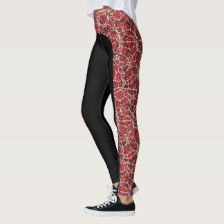 Choose the Colour Craquelure Effect Leggings