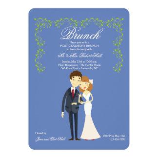 Choose You Own Color Post Wedding Brunch Invites
