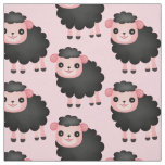 Choose your background colour black sheep fabric