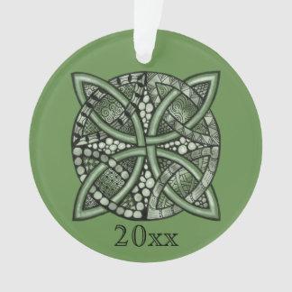 Choose Your Color Celtic Knot Decorative Pattern Ornament
