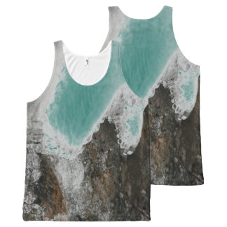 Choose Your Color River Icicles All-Over-Print Tank Top