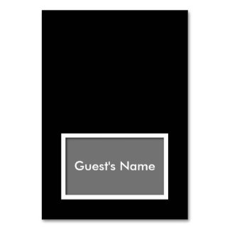 Choose-Your-Color Tented Name Place Card