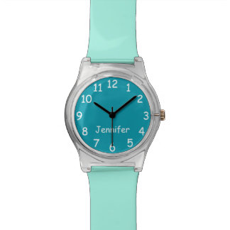 CHOOSE YOUR COLORS, Your Text, Custom Watch FUN