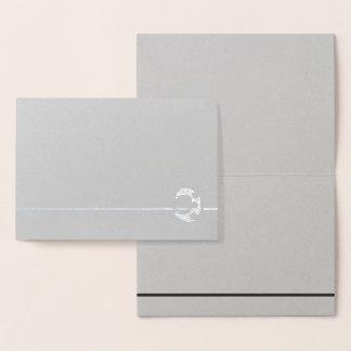 Choose Your Foil Stars Blank Foil Card