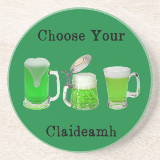 Choose Your Gaelic Weapon Coaster