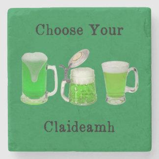 Choose Your Gaelic Weapon Stone Coaster