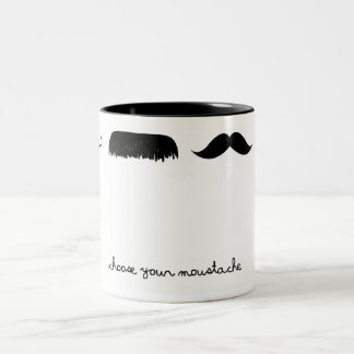 choose your moustache mug