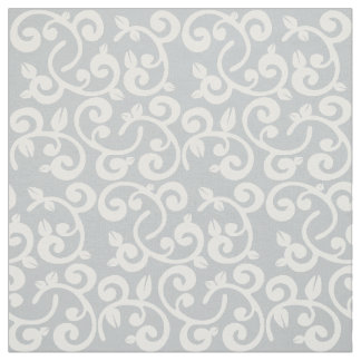Choose your own Color: Floral Vines Fabric