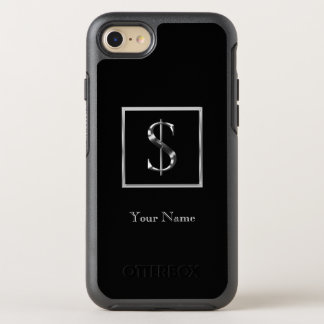 Choose Your Own Shiny Silver Monogram iPhone 7 Ott