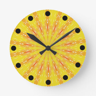 Choose Your Sun Cheery Clock