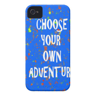 Choose yr own adventure - Wisdom Script Typography iPhone 4 Cover