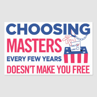 Choosing Masters Voting Sticker