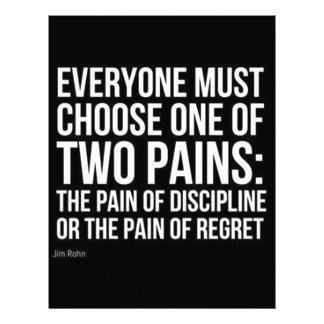 Choosing Two Pains Letterhead