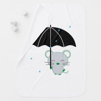 Chootan and umbrella baby blanket