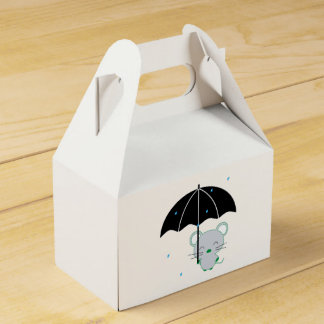 Chootan and umbrella favor box
