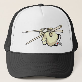 Chop Sticks Asian Design Trucker Hat