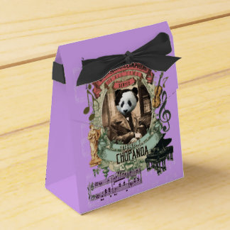 Chopanda Great Animal Composer Chopin Panda Wedding Favor Boxes