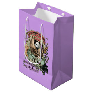 Chopanda Great Animal Composer Chopin Spoof Medium Gift Bag