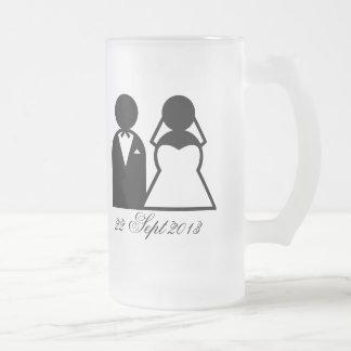 Chope Givrée La jeune mariée et le marié