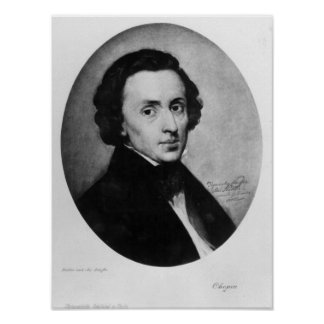 Chopin, 1858 poster