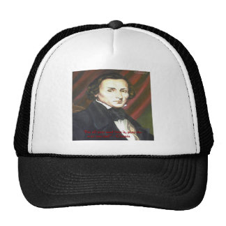 Chopin How To Play Quote Gifts Cards & Tees Hats