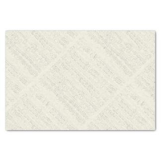 Chopin Piano Polonaise Manuscript Tissue Paper