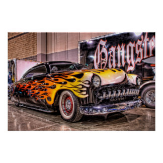 Chopped Gangster Led Sled in HDR Poster