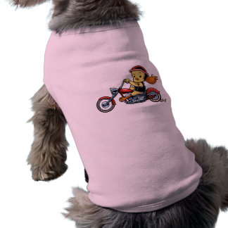 Chopper Chick -notx Dog Shirt