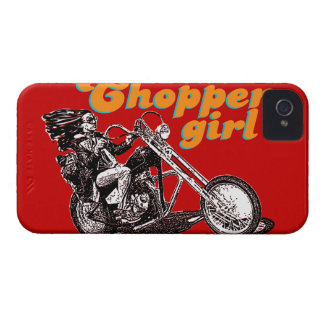 Chopper girl blackberry case