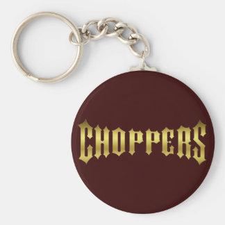 CHOPPER-GOLD KEYCHAIN