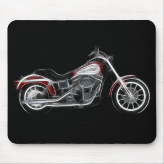 Chopper Hog Heavyweight Motorcycle Mouse Pad