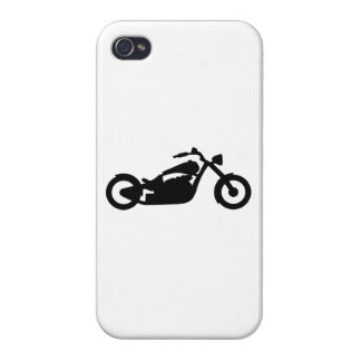 Chopper Motorcycle iPhone 4 Cover