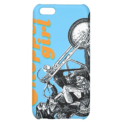 Chopper motorcycles iPhone 5C cover