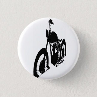 Chopper Shadow 1 Inch Round Button