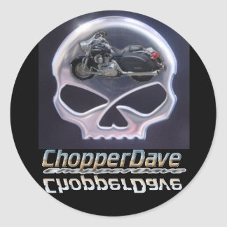 ChopperDave Logo Stickers