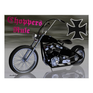 Choppers Rule Poster